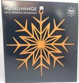 Snowflake Metal Ornament