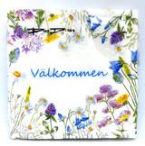 The Välkommen Flower Dinner Napkins