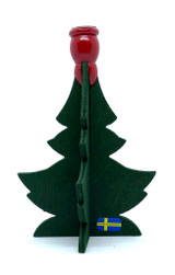 Swedish Wood Christmas Tree Votive