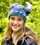 Knit Viking Helmet (gray)