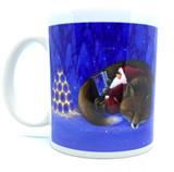 Tomte With Fox Coffee Mug