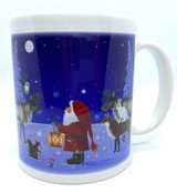 Tomte and Forest Creatures Mug