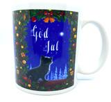 God Jul Kitten Mug