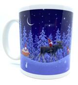 Tomten Gift Delivery Mug
