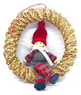 Swedish Straw Wreath Tomtar