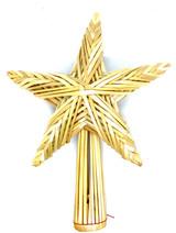 Swedish Straw Single Star Tree Topper