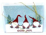Three Tomten Christmas Cards