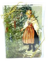 Tree Decorating Christmas Cards