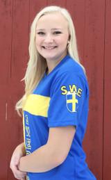 Swedish Soccer Jersey (sleeve)