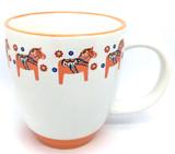Dala Horse Bistro Coffee Mug