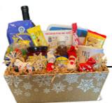 God Jul Gift Basket
