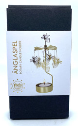 Trumpet Angel Rotary Candle Holder