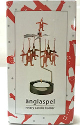 Änglaspel Tomte rotary candle holder