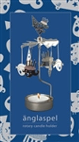 Änglaspel Lucia rotary candle holder