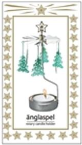 Änglaspel Christmas Tree rotary candle holder