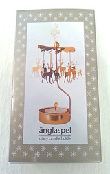 Änglaspel Deer Rotary Candle Holder
