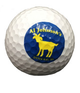 Goat Logo Golf Ball