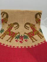 Straw Goat Christmas Tree Skirt
