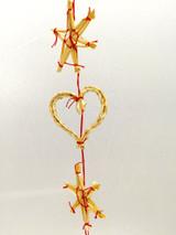 Swedish Straw Ornament Garland