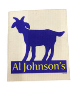 Al Johnson's Goat Swedish Dishcloth
