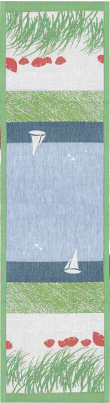 "Ekelund ""Summer"" table runner"