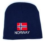 Norwegian Flag Beanie