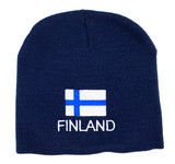 Finnish Flag Beanie