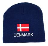 Danish Flag Beanie