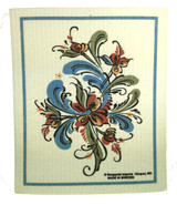 Swedish Folk Art Swedish Dishcloth