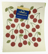Door County Cherry Swedish Dishcloth