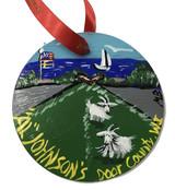 Al Johnson's Lake Goat Ornament