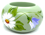 Daisy and Bluebell Votive