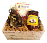 Golden Goat Gift Basket