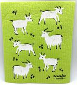 Green Goat Swedish Dishcloth