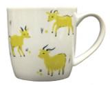 Green Goat Mug