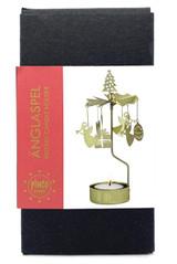 Christmas Rotary Candle Holder
