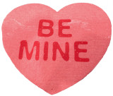 """Be Mine"" Heart Swedish Dishcloth"