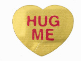 """Hug Me"" Heart Swedish Dishcloth"