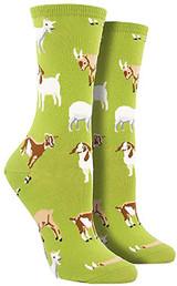 Green Goat Socks