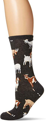 Grey Goat Long Socks