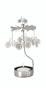 Bicycle Rotary Candle Holder