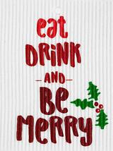 Be Merry Swedish Dishcloth
