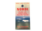 Nordi Raspberry & Licorice Dark Chocolate Bar