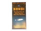 Nordi Buckthorn & Salty Caramel Dark Chocolate Bar