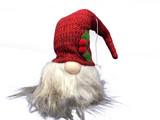 Knit Hat Tomte Ornament
