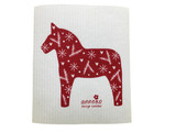 Winter Dala Horse
