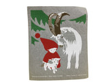 Tomte & Jul Goat Swedish Dishcloth