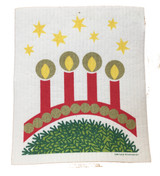 Candelabra Swedish Dishcloth