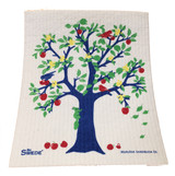 Apple Tree Swedish Dishcloth