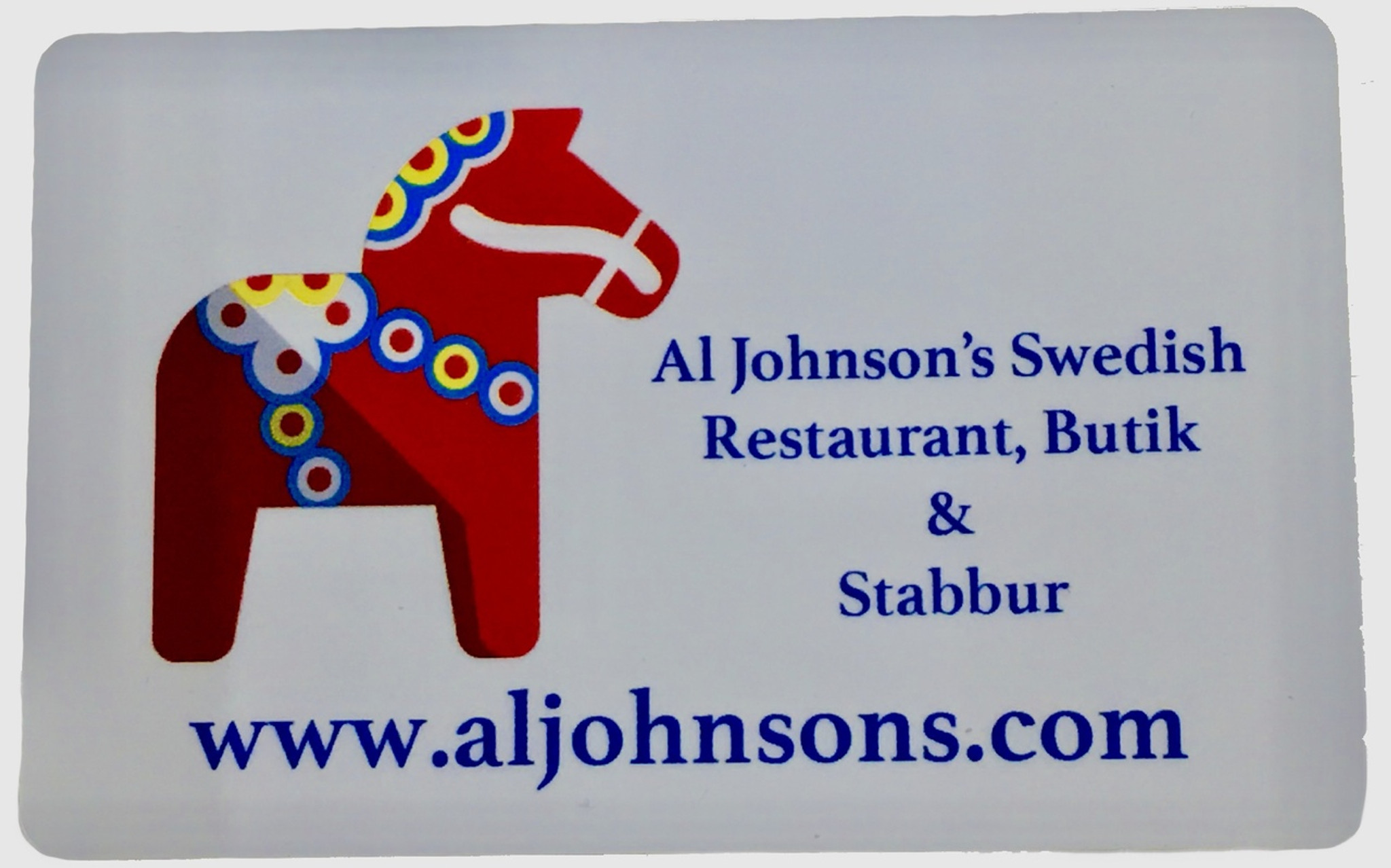 Al Johnson S Swedish Restaurant Gift Certificate